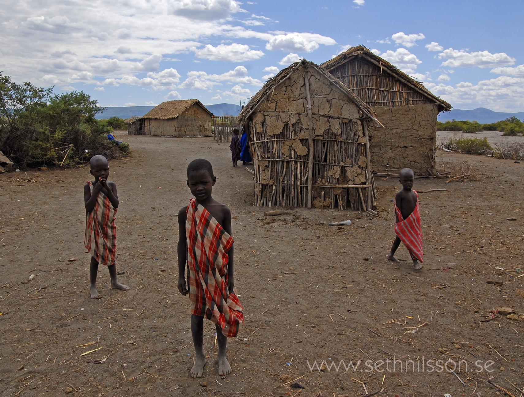Foto Seth Nilsson, Tanzania Massajer